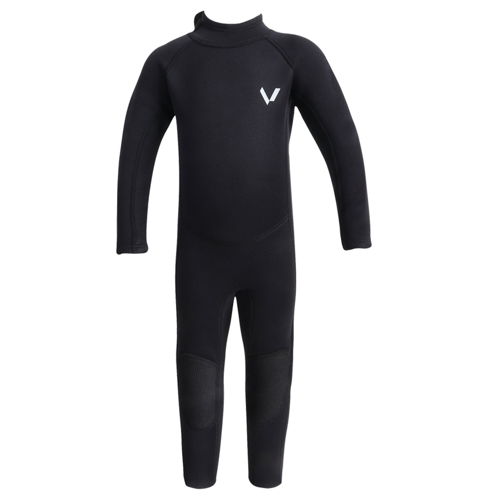 Volte Vital Toddler 2x2 Back Zip Steamer Wetsuit - Black - Seaside Surf Shop