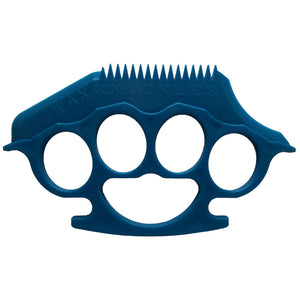 Wax Knuckles Surfboard Wax Comb - Blue-Blocksurf-Seaside Surf Shop