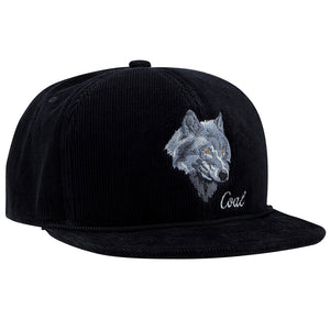 Coal Mens The Wilderness Wolf Cap - Black-Coal Headwear-Seaside Surf Shop