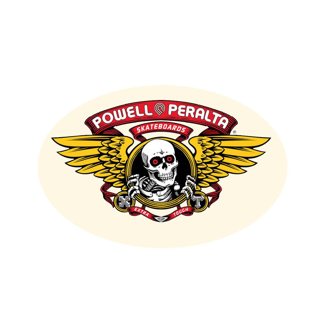 Powell/Peralta Winged Skull Head 6x4
