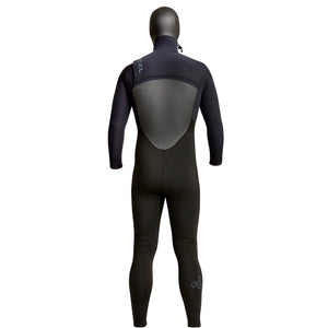 Xcel Infiniti Men's 5/4mm Chest Zip Hooded Wetsuit - Black