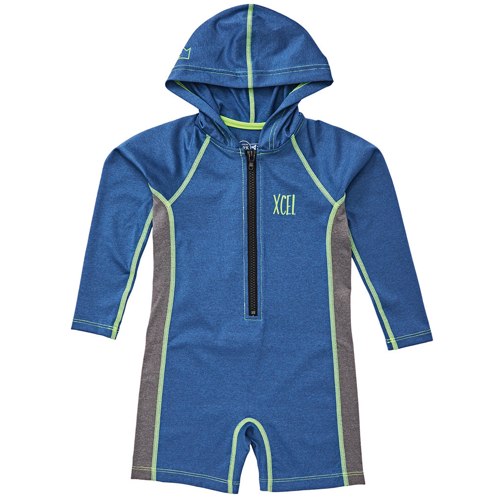 Xcel Toddler Unisex 8oz Premium Hooded Stretch L/S Spring Suit - Seaside Surf Shop