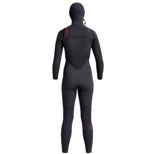 Xcel Comp X Womens 4.5/3.5mm Hooded Wetsuit - Black