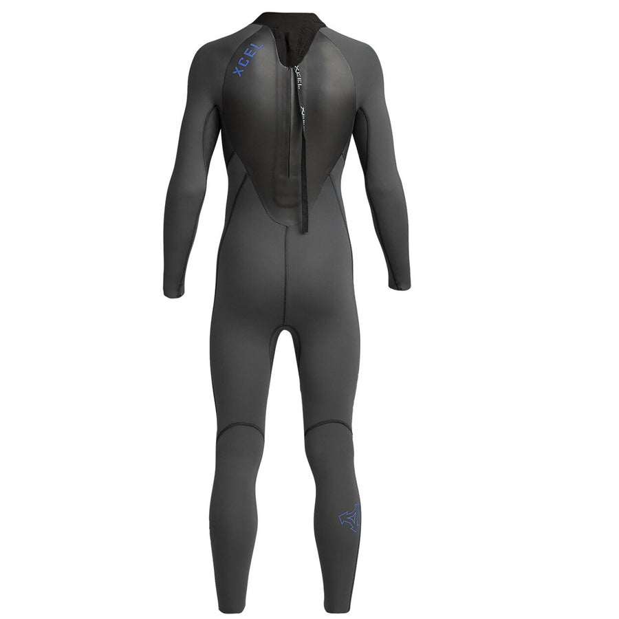 Xcel Axis X Youth's 5/4mm Backzip Wetsuit - Jet Black