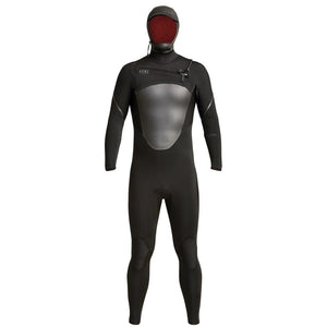 2019/20 Xcel Axis Mens 5/4mm Hooded Wetsuit - Black