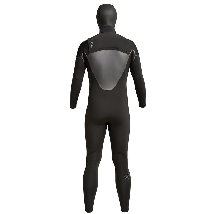 Xcel Axis Mens 5/4mm Hooded Wetsuit - Black