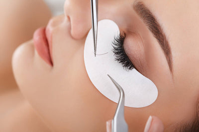 Hydro gel Eye Pad Application For Eyelash Extensions