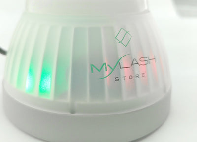 My Lash Store Vortex Automatic Adhesive Mixer Lights On