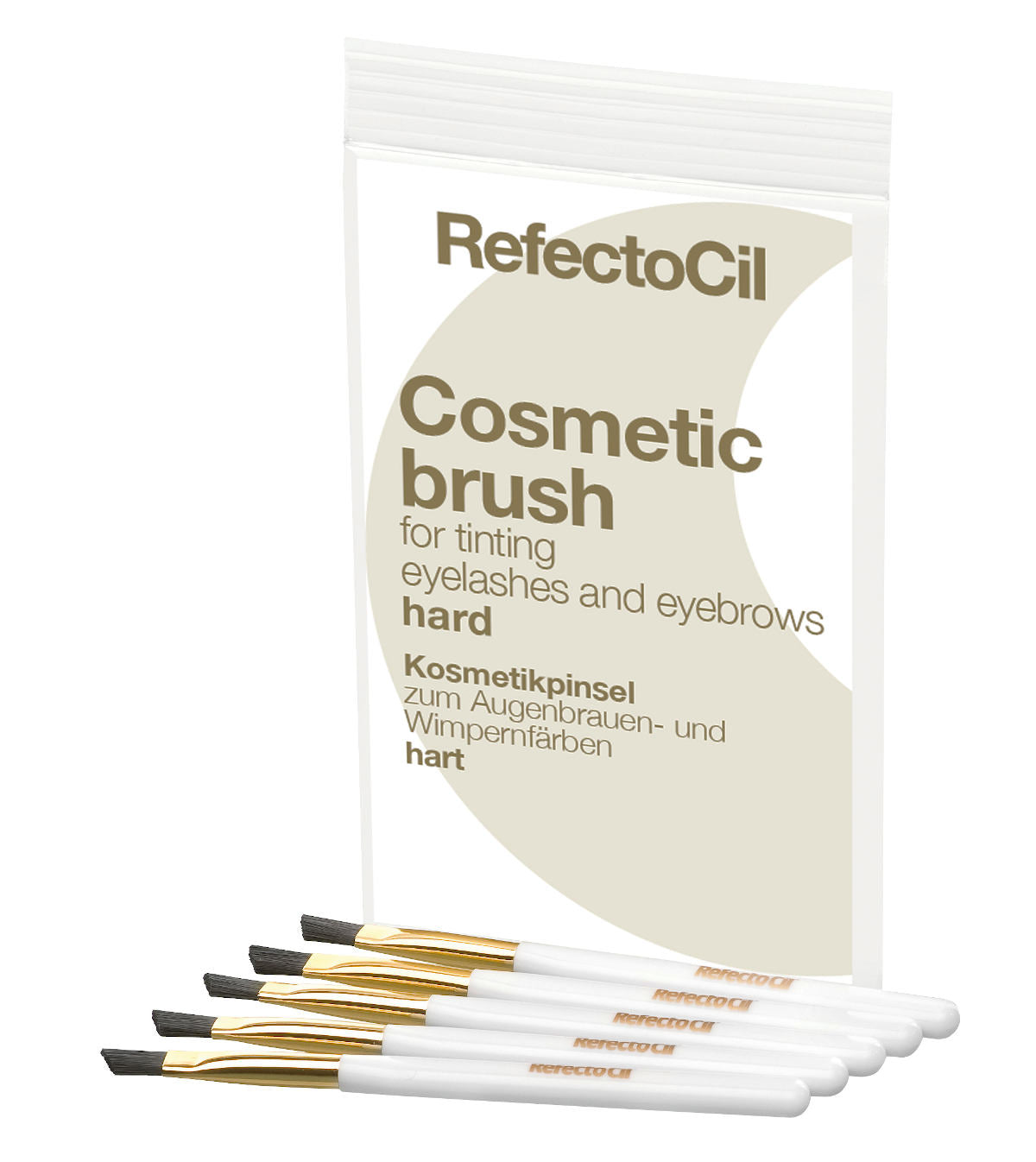 RefectoCil Cosmetic Brushes - Hard