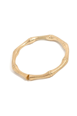 Bamboo Ring : Gold