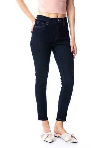 Classic Skinny Denim : Dark Blue