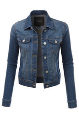 Madison Denim Jacket : Medium Wash