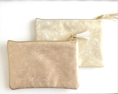 Rose Gold Mini Clutch