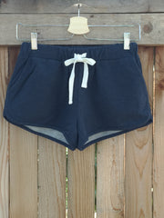 French Terry Sweat Shorts : Navy