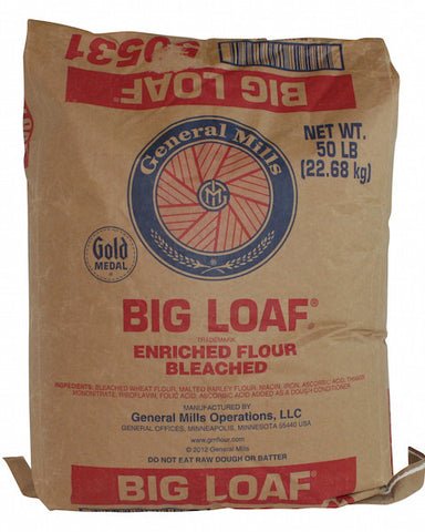 General Mills Big Loaf Bread Flour Front