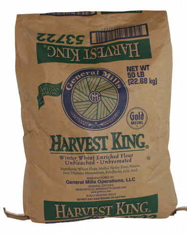 General Mills Harvest King Bread Flour