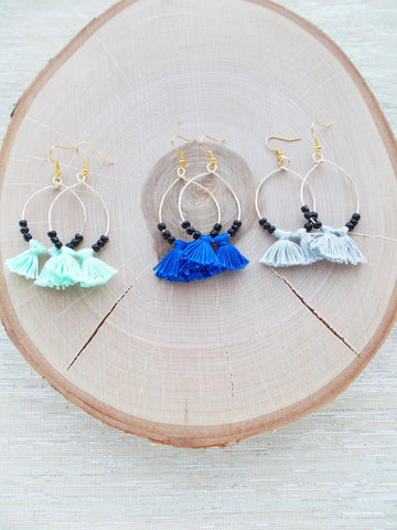 8683JE.a - Cloudburst Earrings-black, in 3 colors