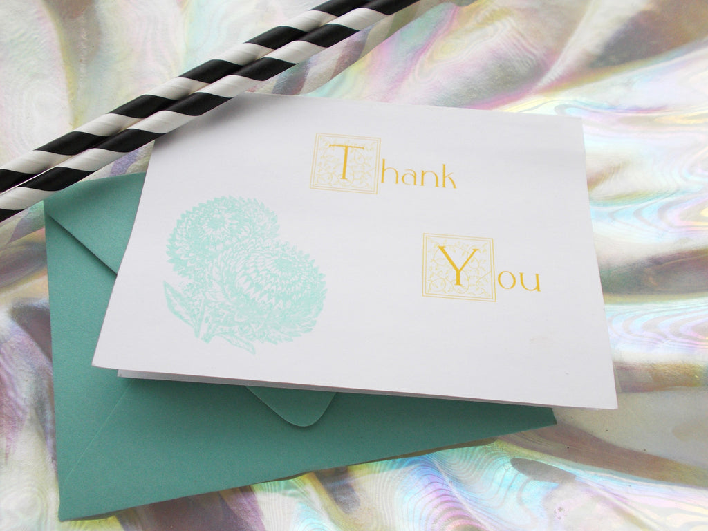 (No. 144) - Dandylione Thank You Card