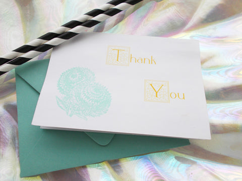 No. 144 - Dandylione Thank You Card