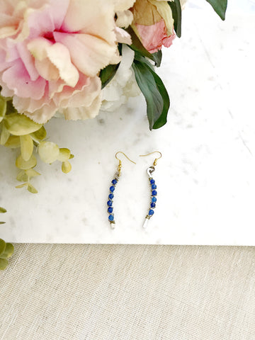 8678JE - Midnight Rain Earring