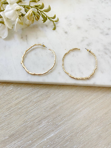 8786JE - Ana Hoop Earrings