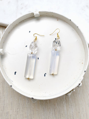 8754JE - Shelly Two Drop Earrings
