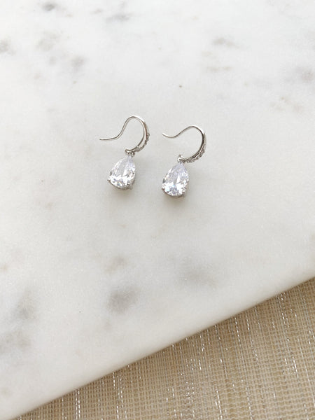 8293JE - Haven Oval Drop Earrings