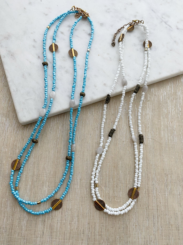 8307JN - Tilly Multi-Wrap Necklace