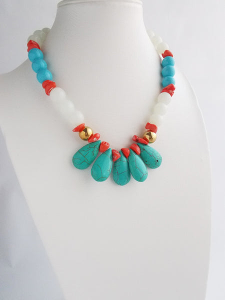 8209JN - Coral Isle Necklace