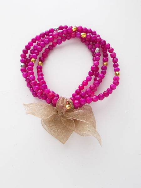 8665JB.d - Betty Pop Bracelet in Hot Pink