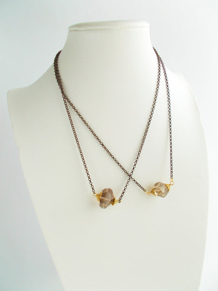 8648JN - Gray Rock Necklace
