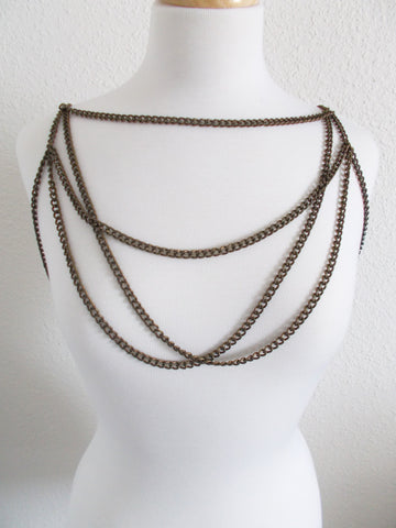 8223BC - Avanna Draped Collar Body Chain