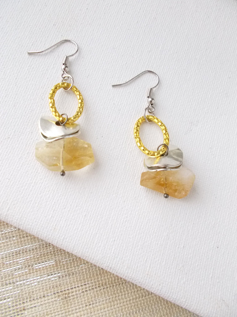 8642JE - Citron Earrings