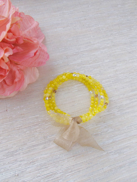 8665JB.b - Betty Pop Bracelet in Yellow