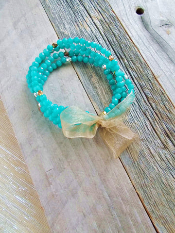 8665JB.c - Betty Pop Bracelet in Teal
