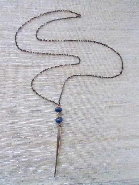 (No. 8675JN) - Stormy Necklace