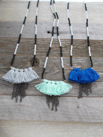 8684JN - Monsoon Necklace in 3 colors