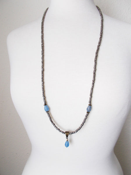 8718JN - Slate Necklace