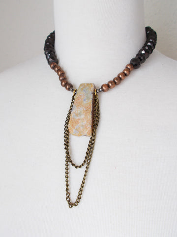 8724JN - Stone Necklace