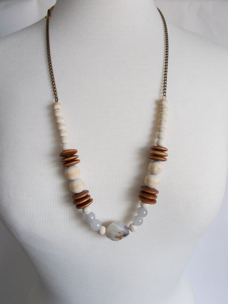 8739JN - Winter Necklace - adjustable