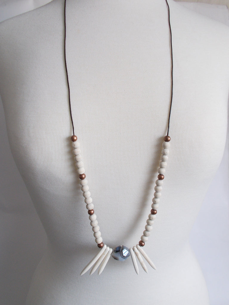 8742JN - Ivory Necklace