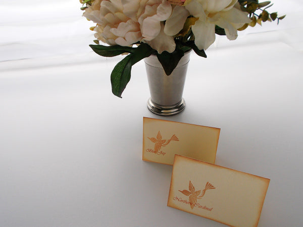 No. 012 - The Mandy Bird Inspired Place Cards, Set of 50