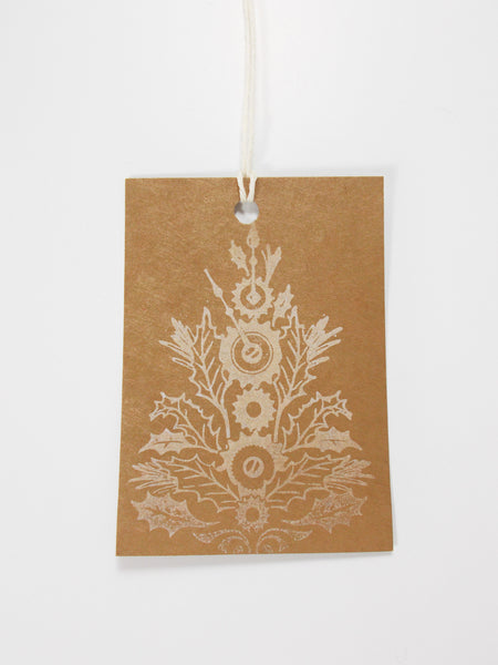 No. 151 - Christmas Tree Holiday Gift Tags - Set of 10