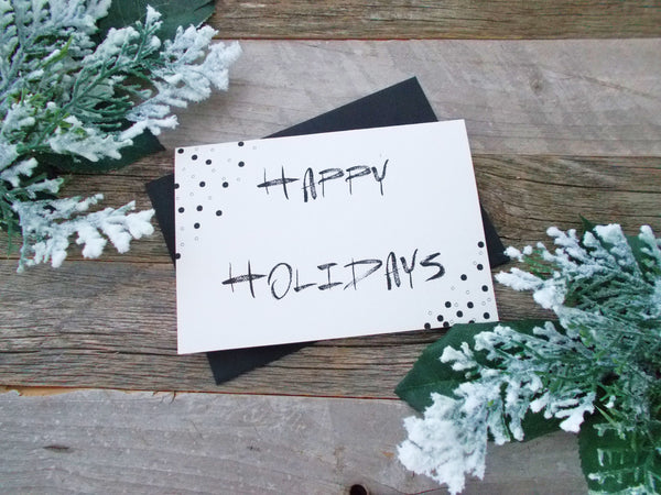 No. 154 - Happy Holidays Greeting Card