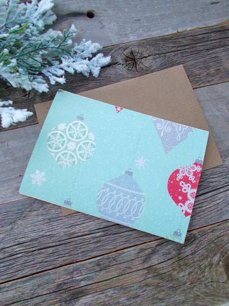 No. 159 - Holiday Ornaments Card Set