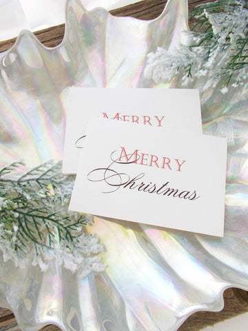 (No. 160) - It's a Red Merry Christmas Greeting Card