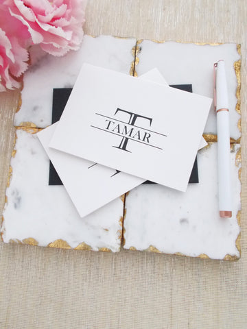 No. 170 - Personalized Note Cards