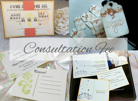 (No. 000) - Custom Order / Consultation Fee