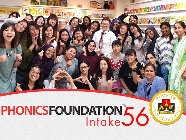 Phonics Foundation Intake 56 Group Photo
