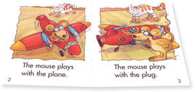 The Mouse Plays With the Plane